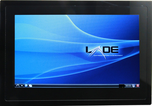 Linux LXDE Desktop with Multi-Touch LCD on Atlas-SoC Kit