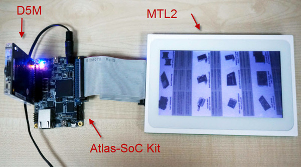 VIP Camera With the HPS DDR3 on Atlas-SoC Kit | Projects